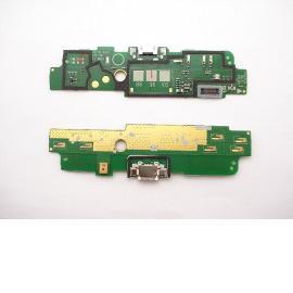 Flex Conector de Carga Micro USB, Microfono y Antena Original para Nokia Lumia 1320