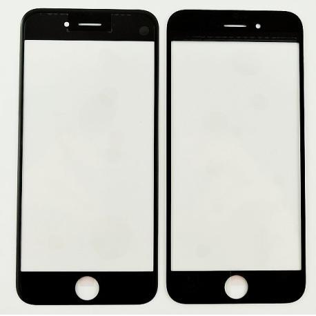 Ventana de Cristal para iPhone 6s, 6 - Negro