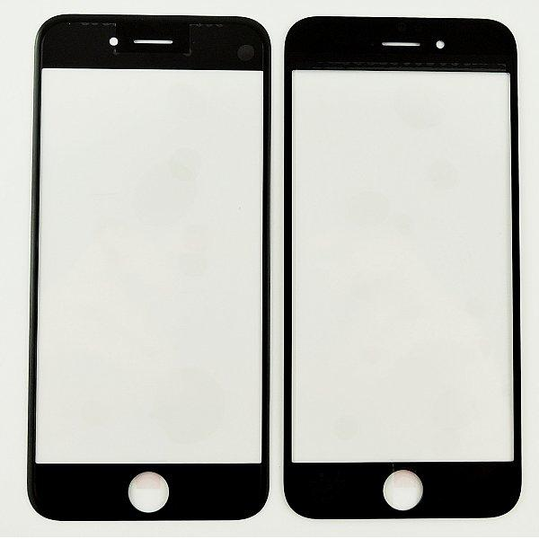 Ventana de Cristal para iPhone 6s - Negro