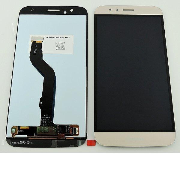 Pantalla Tactil + LCD Display para Huawei G8 / G8X - Oro