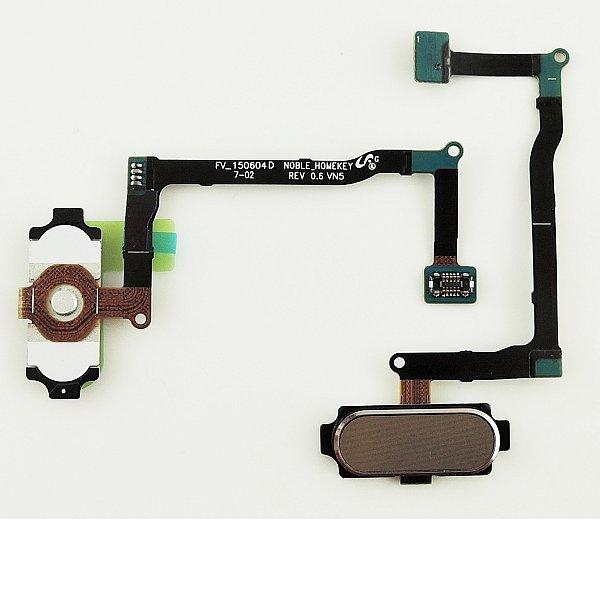 Flex Boton Home Original para Samsung Galaxy Note 5 SM-N920 - Oro