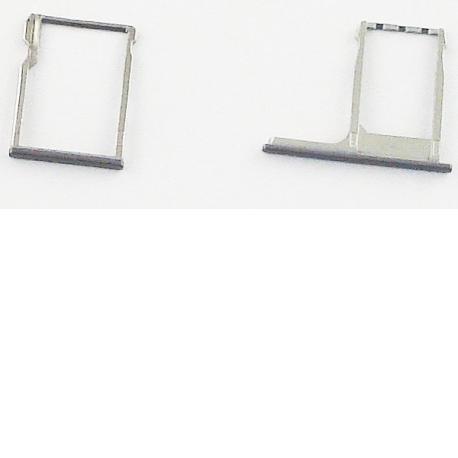 Bandeja de Tarjeta SIM y Micro SD para HTC One M8 - Gris