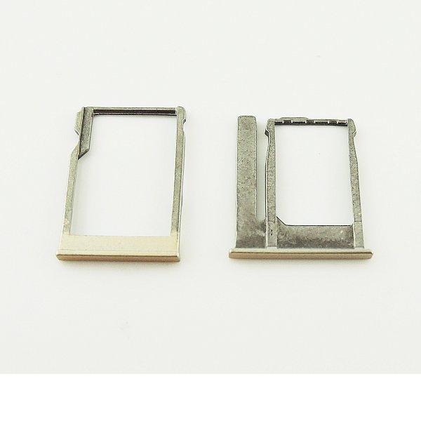 Bandeja de Tarjeta Sim para HTC ONE M8 Mini - Oro