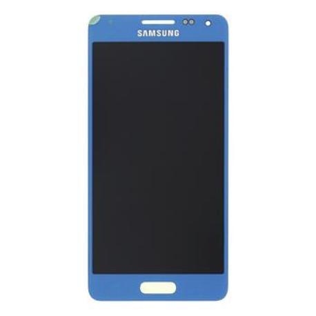 Pantalla Lcd + Tactil Original Samsung Galaxy Alpha SM-G850F Azul