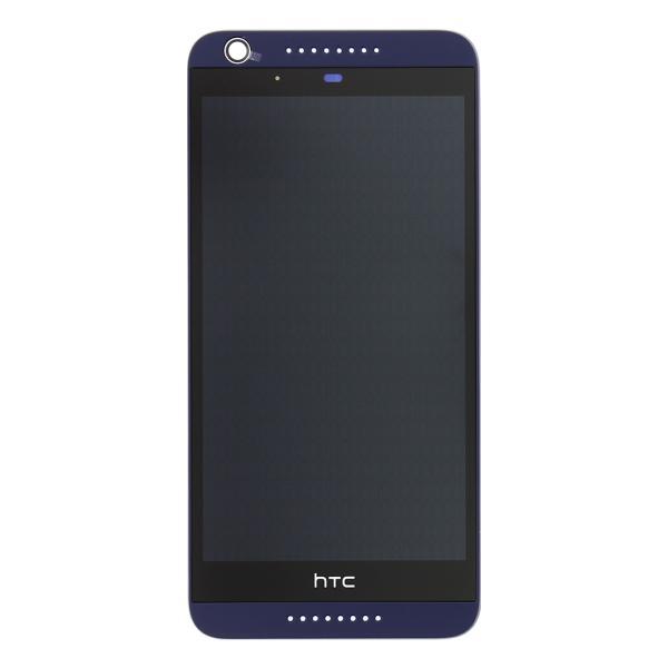 Repuesto Pantalla LCD + Tactil con Marco Original HTC Desire 626 - Azul