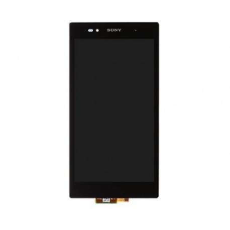 Repuesto Pantalla Lcd + Tactil con Marco Sony Xperia Z Ultra Negra