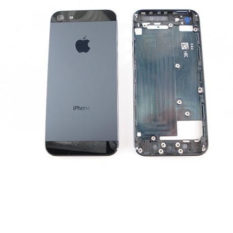 Carcasa Tapa Trasera de Bateria para iPhone 5 - Negro (Compatible)