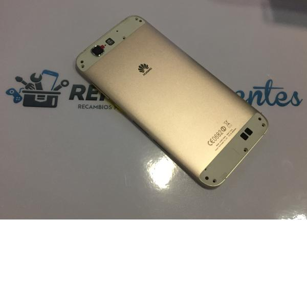 Carcasa Tapa Trasera de Bateria Original para Huawei Ascend G7 - Oro