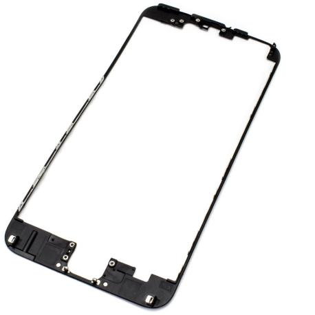 Repuesto Marco Frontal iPhone 6 + plus Negro