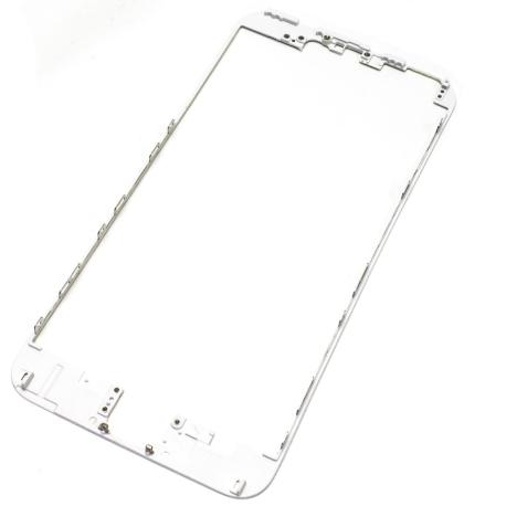 Repuesto Marco Frontal iPhone 6 + plus Blanco