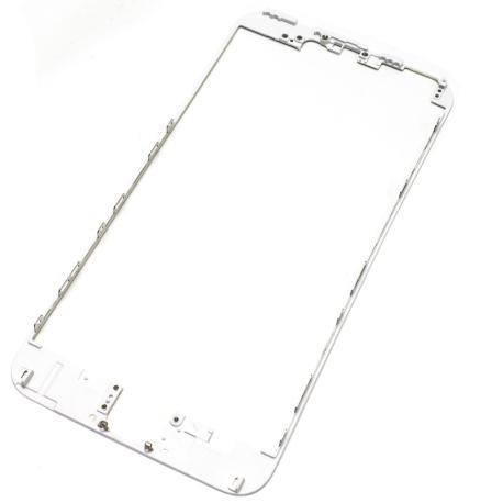 Repuesto Marco Frontal iPhone 6 + plus Blanco