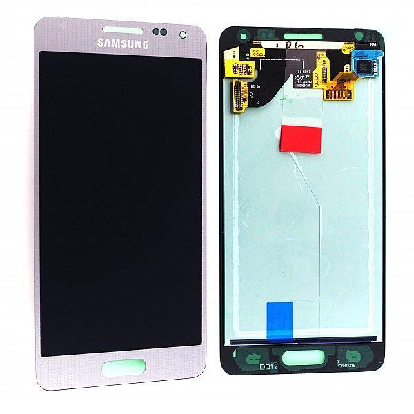 Pantalla LCD + Tactil Original para Samsung Galaxy Alpha SM-G850F- Plata Recuperada