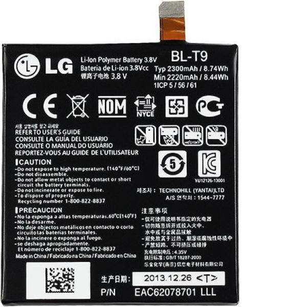 Bateria Original BL-T9 para LG Google Nexus 5 D820 D821 Lg X Screen - Desmontaje