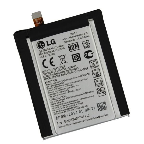 Batería Original BL-T7 para LG G2 D802 de 3000mAh - Desmontaje