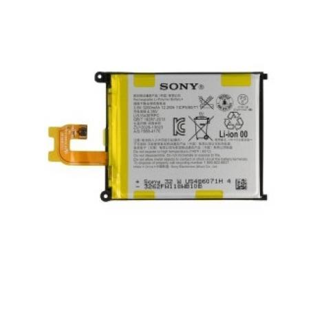 Bateria Original para Sony Xperia Z2 D6502, D6503, D6543, L50w de 3200mAh