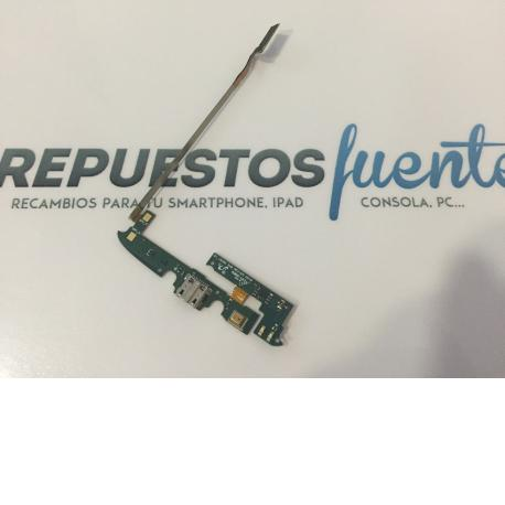 Flex Conector de Carga Original Samsung Galaxy S4 Active I9295 AQUATICO