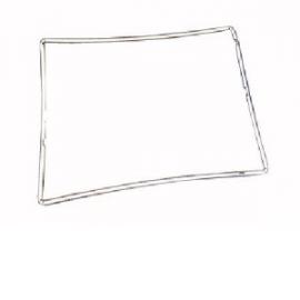 iPad 2 marco negro pantalla
