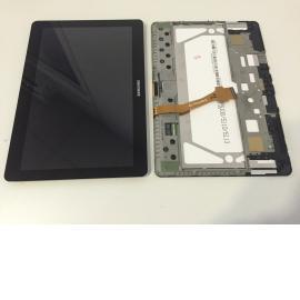 Pantalla tactil + Lcd Original Samsung galaxy TAB 2 P5100 P5110 Negra - Recuperada
