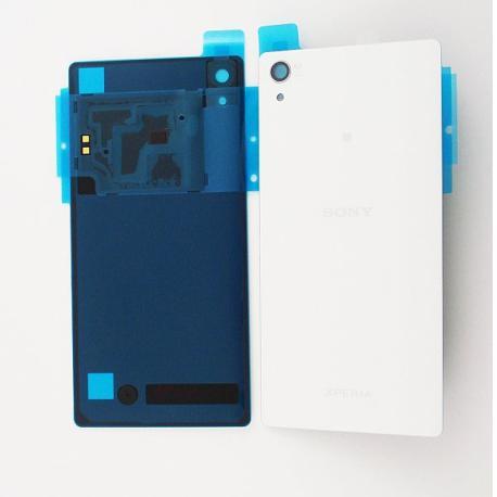 Tapa Trasera de Bateria Sony Xperia Z2 D6502, D6503 (Sin NFC) - Blanca