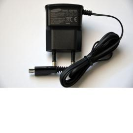 Cargador Original ETAOU10EBE de Red Micro USB Samsung - Negro
