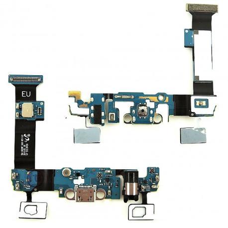 Flex Conector de Carga MIcro Usb y Jack de Audio para Samsung Galaxy S6 Edge+ Plus SM-G928F