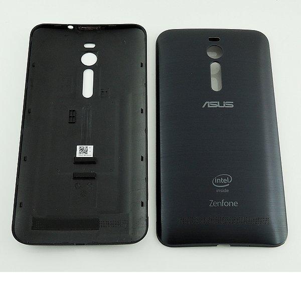 Carcasa Tapa Trasera de Bateria para Asus Zenfone 2 ZE550ML - Negra