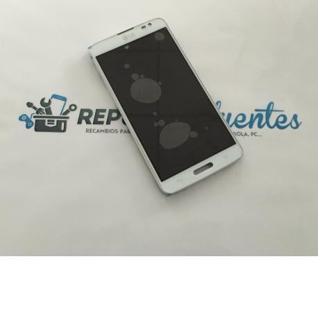 Pantalla Tactil + Pantalla LCD Display con Marco LG G Pro Lite D680, D682 - Blanco