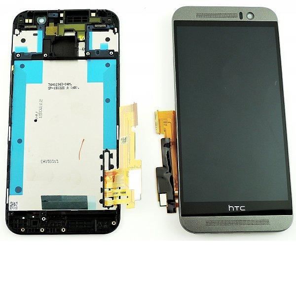 Pantalla Tactil + LCD Display con Marco Original para HTC One M9 - Negro