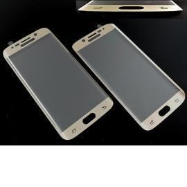 Cristal Templado para Samsung Galaxy S6 Edge+ Plus SM-G928F - Oro
