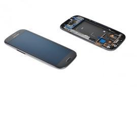 Pantalla Completa LCD Display + Tactil + Carcasa Frontal Samsung Galaxy S3 i9300 - Gris