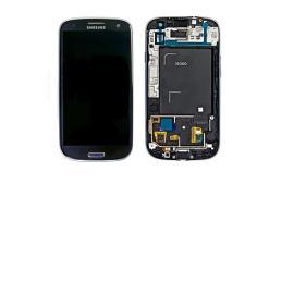 Pantalla Completa LCD Display + Tactil + Carcasa Frontal Samsung Galaxy S3 i9305 - Azul