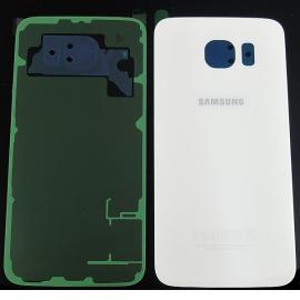 Carcasa Tapa Trasera de Bateria ORIGINAL para Samsung Galaxy S6 i9600 SM-G920 - Blanco
