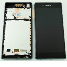 Repuesto Pantalla LCD + Tactil con Marco para Sony Xperia Z3 Plus, Xperia Z4, Sony E6553 - Cobre