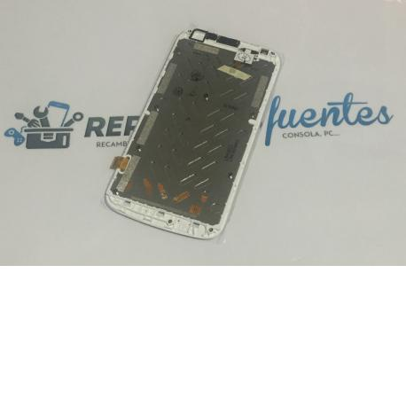 Pantalla LCD Display + Tactil para Huawei Ascend Y600 - Blanco