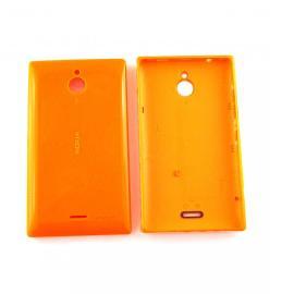 Carcasa Tapa Trasera de Bateria Original para Nokia X2 - Naranja