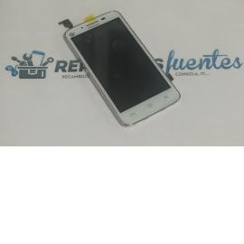 Pantalla LCD Display + Tactil con Marco para Huawei Y511 - Blanca