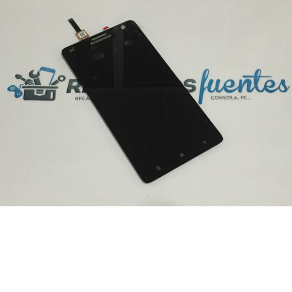 Pantalla Tactil + LCD Display para Lenovo S856 - Negra