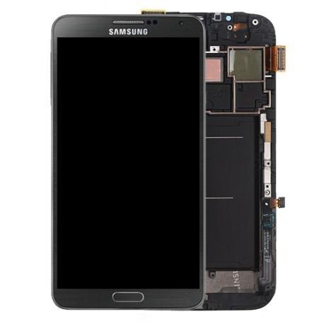 Pantalla LCD Display + Tactil con Marco para Samsung Note 3 N9005 - Negra