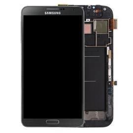Pantalla LCD Display + Tactil con Marco Original para Samsung Note 3 N9005 - Negra