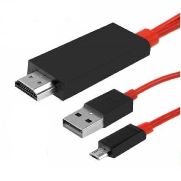Adaptador TV MHL Micro Usb a HDMI universal