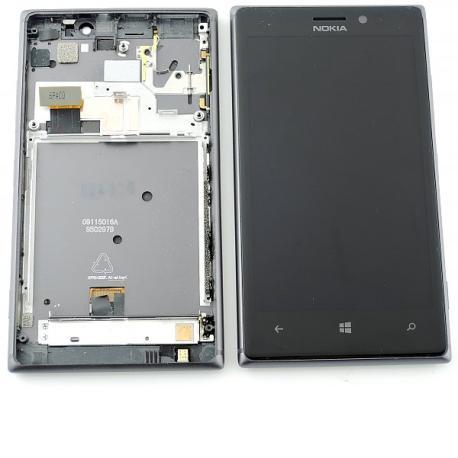Pantalla LCD Display + Tactil con Marco para Nokia Lumia 925 - Negra