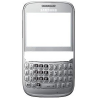 Carcasa Samsung S3570 CHAT Frontal Con ventana Display Gris