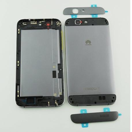 Carcasa Tapa Trasera de Bateria Original para Huawei Ascend G7 - Negra