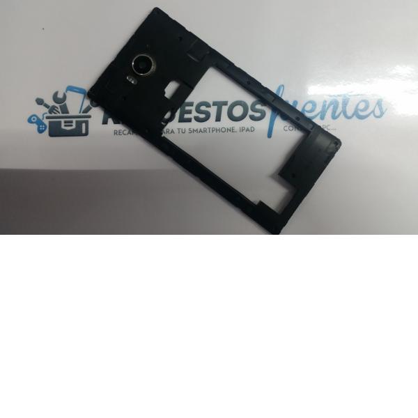 Carcasa Intermedia para Woxter Zielo Z.-420 Plus , Z-820 plus Negra - Recuperado