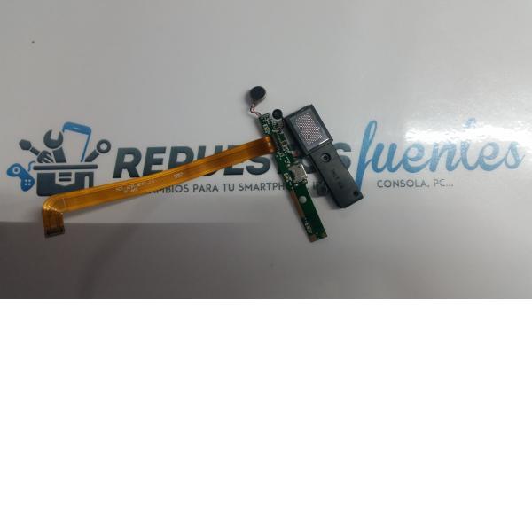 Modulo de conexiones Carga Antena Alavoz y Microfono para Woxter Zielo Z. 420 Plus - Recuperado