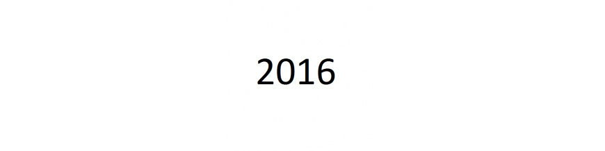 Año 2016 - Letra K